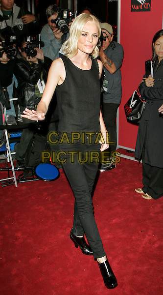 "KATE BOSWORTH.Outside Saks Fifth Avenue attending the ""Want It!"" launch party hosted by Vanity Fair, New York, NY, USA..September 13th, 2006.Ref: ADM/JL.full length black trousers top .www.capitalpictures.com.sales@capitalpictures.com.©Jackson Lee/AdMedia/Capital Pictures."