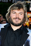 "Actor Jack Black arrives at the Los Angeles Premiere Of ""Tropic Thunder"" at the Mann's Village Theater on August 11, 2008 in Los Angeles, California."
