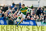 David Moran Kerry in action against  Cork in the National Football league in Austin Stack Park, Tralee on Sunday.