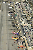 Aerial View of John Wayne Airport Santa Ana California