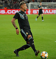 Roberto Pereyra (Argentinien, Argentina) - 09.10.2019: Deutschland vs. Argentinien, Signal Iduna Park, Freunschaftsspiel<br /> DISCLAIMER: DFB regulations prohibit any use of photographs as image sequences and/or quasi-video.
