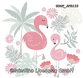Lamont, GIFT WRAPS, GESCHENKPAPIER, PAPEL DE REGALO, paintings+++++,USGTJF8133,#gp#, EVERYDAY ,notebook,notebooks,flamingos