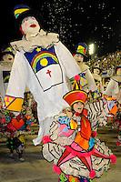 RIO DE JANEIRO, RJ, 19 DE FEVEREIRO 2012 - CARNAVAL 2012 - DESFILE RENASCER DE JACAREPAGUA - Desfile da escola de samba Renascer de Jacarepaguá no primeiro dia de desfiles das Escolas de Samba do Grupo Especial do Rio de Janeiro, no sambódromo da Marques de Sapucaí, no centro da cidade, neste domingo.  (FOTO: GLAICON EMRICH - BRAZIL PHOTO PRESS).
