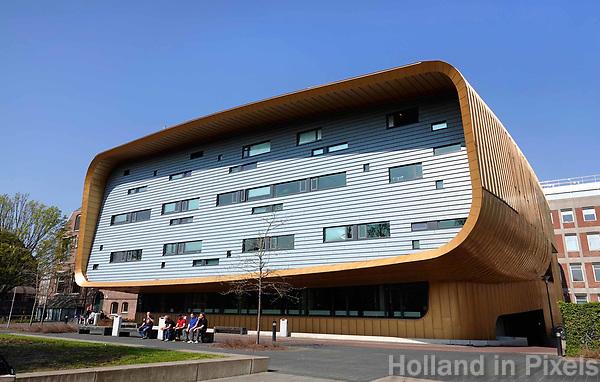 Nederland  Groningen- 2019. Faculteit Medische Wetenschappen van de Rijksuniversiteit Groningen. Het gebouw is een ontwerp van Architectenbureau Rau. Foto Berlinda van Dam / Hollandse Hoogte