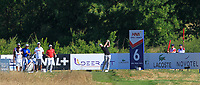 Laurie Canter (ENG) on the 6th tee during Round 1 of the HNA Open De France at Le Golf National in Saint-Quentin-En-Yvelines, Paris, France on Thursday 28th June 2018.<br /> Picture:  Thos Caffrey | Golffile