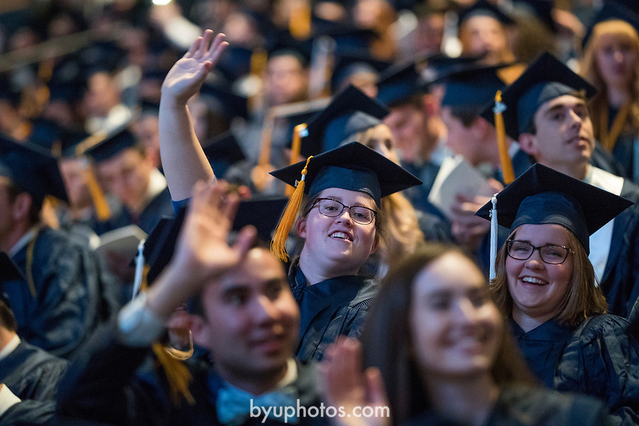 1704-51 2017 Spring Commencement 1172<br /> <br /> 1704-51 2017 Spring Commencement<br /> <br /> April 27, 2017<br /> <br /> Photography by Aaron Cornia/BYU<br /> <br /> Copyright BYU Photo 2017<br /> All Rights Reserved<br /> photo@byu.edu  (801)422-7322