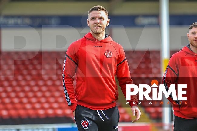 Fleetwood Town's defender Ashley Eastham (5) during the Sky Bet League 1 match between Walsall and Fleetwood Town at the Banks's Stadium, Walsall, England on 9 March 2019. Photo by Stephen Buckley / PRiME Media Images