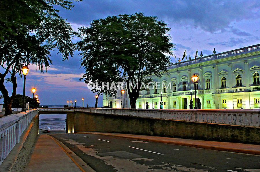 Palácio dos Leões, centro histórico de São Luis. Maranhao.2007. Foto de Rogério Reis.