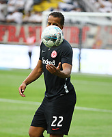Timothy Chandler (Eintracht Frankfurt) - 01.08.2019: Eintracht Frankfurt vs. FC Flora Tallinn, UEFA Europa League, Qualifikation 2. Runde, Commerzbank Arena<br /> DISCLAIMER: DFL regulations prohibit any use of photographs as image sequences and/or quasi-video.