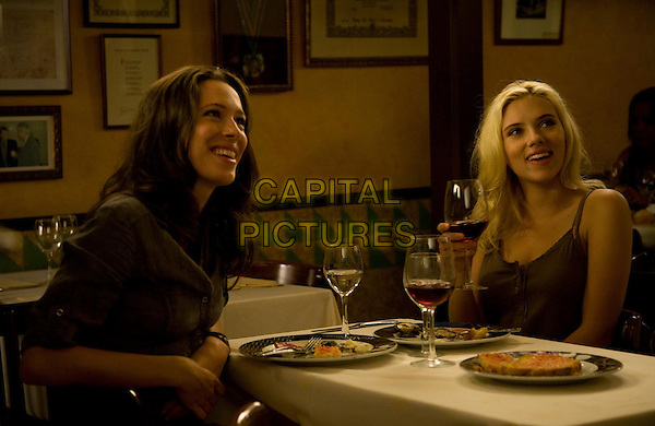 Vicky Cristina Barcelona (2008) <br /> Rebecca Hall and Scarlett Johansson<br /> *Filmstill - Editorial Use Only*<br /> CAP/KFS<br /> Image supplied by Capital Pictures