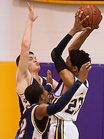 Scenes from the Elkton versus Perryville High School boy's basketball game at Elkton High School in Elkton, Maryland