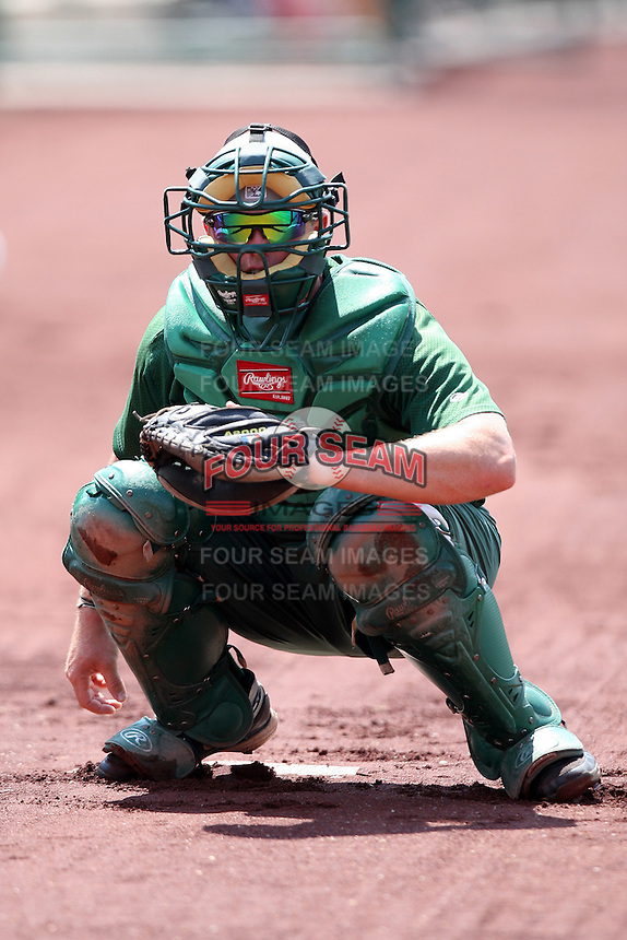 Fort Wayne TinCaps Cole Tyrell #26 during practice before a game against the Quad Cities River Bandits at Parview Field on July 25, 2011 in Fort Wayne, Indiana.  Quad Cities defeated Fort Wayne 11-10.  (Mike Janes/Four Seam Images)