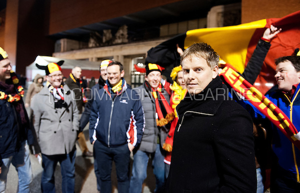 Belgian former international footballer Tom De Mul (Belgium, 28/03/2015)