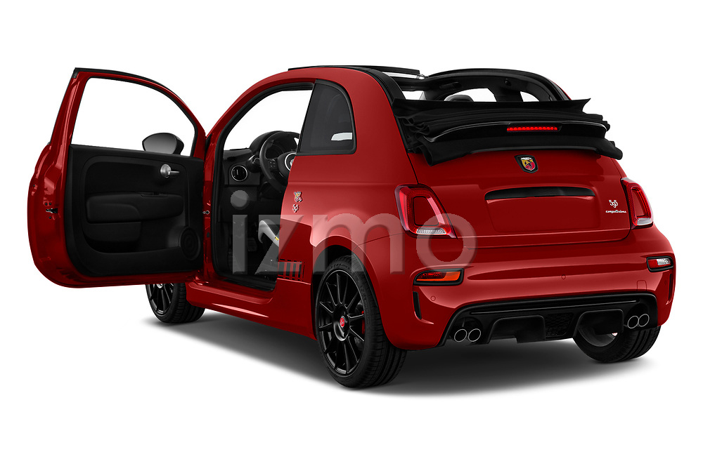 Car images close up view of a 2018 Abarth 595 C Competizione 2 Door Convertible doors