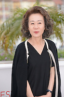 "Youn Yuh-jung attending the ""Da-reun Na-ra-e-suh (In Another Country)"" Photocall during the 65th annual International Cannes Film Festival in Cannes, France, 21th May 2012...Credit: Timm/face to face / Mediapunchinc"