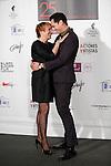 Blanca Portillo and Asier Etxeandia attend the `Union de actores Awards´ ceremony in Madrid, Spain. March 14, 2016. (ALTERPHOTOS/Victor Blanco)