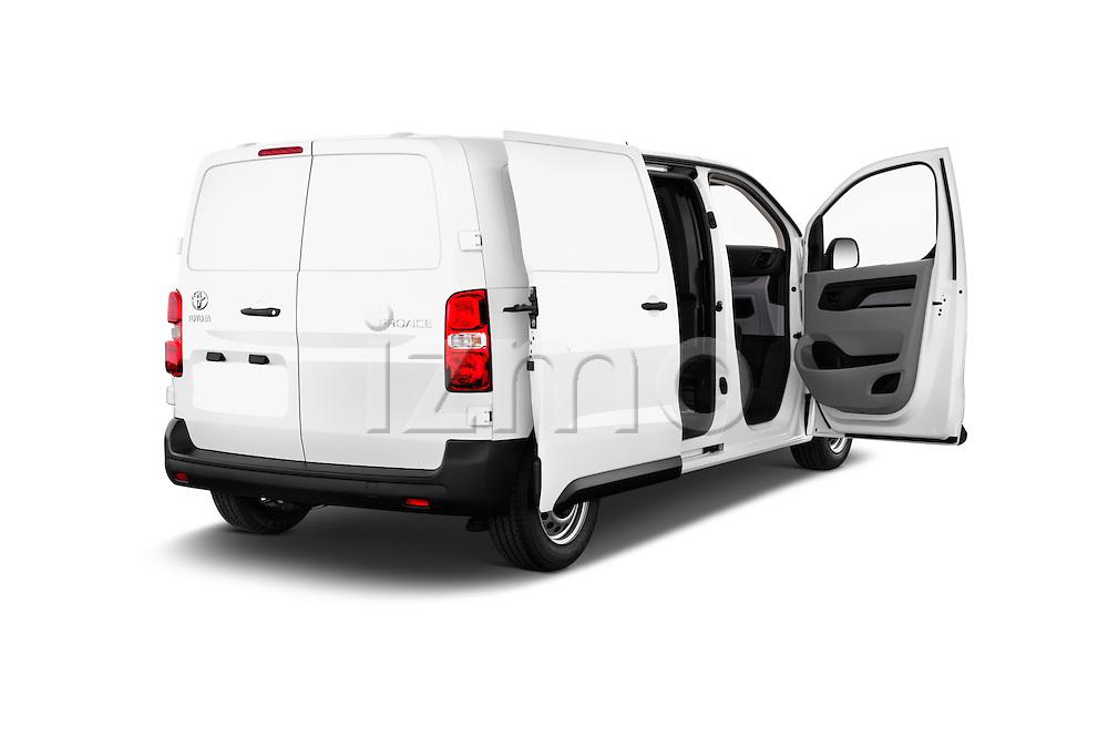 Car images of 2016 Toyota Proace Comfort 4 Door Cargo Van Doors