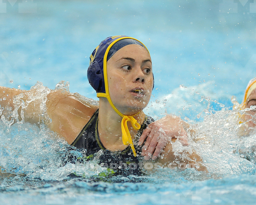 The University of Michigan women's water polo team beat Sienna, 17-2, in the Wolverine Invitational at Canham Natatorium in Ann Arbor, Mich., on March 16, 2013.