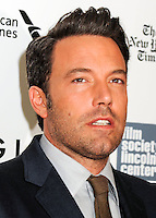 NEW YORK CITY, NY, USA - SEPTEMBER 26: Ben Affleck arrives at the 52nd New York Film Festival Opening Night Gala Presentation and World Premiere Of 'Gone Girl' held at Alice Tully Hall on September 26, 2014 in New York City, New York, United States. (Photo by Celebrity Monitor)
