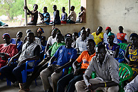 UGANDA, Arua, south sudanese refugees in Rhino camp refugee settlement / suedsudanesische Fluechtlinge im Fluechtlingslager Rhino Camp