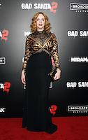 NEW YORK, NY November 15:Christina Hendricks at Broad Green Picture & Miramax's presents New York premiere of BAD SANTA 2 at AMC Loews Lincoln Square in New York City.November 15, 2016. Credit:RW/MediaPunch