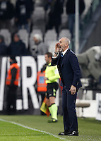 Calcio, Serie A: Torino, Juventus Stadium, 5 febbraio 2017.<br /> Inter Milan's coach Stefano Pioli gestures during the Italian Serie A football match between Juventus and Inter Milan at Turin's Juventus Stadium, on February 5, 2017.<br /> UPDATE IMAGES PRESS/Isabella Bonotto