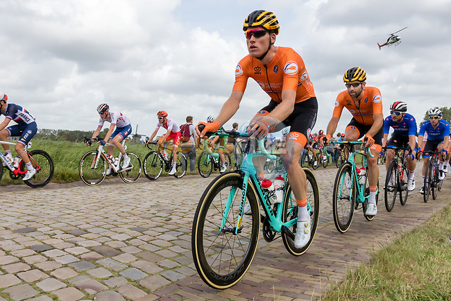 Elite Men's Road Race during the 2019 UEC European Road Championships, Alkmaar, The Netherlands, 11 August 2019.<br /> <br /> Photo by Thomas van Bracht / PelotonPhotos.com | All photos usage must carry mandatory copyright credit (Peloton Photos | Thomas van Bracht)