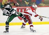 Scott Fleming (Dartmouth - 17), Alex Biega (Harvard - 3) - The Harvard University Crimson defeated the Dartmouth College Big Green 4-1 (EN) on Monday, January 18, 2010, at Bright Hockey Center in Cambridge, Massachusetts.
