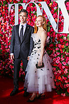 NEW YORK, NY - JUNE 10:  Sam Handel and Lauren Ambrose attend the 72nd Annual Tony Awards at Radio City Music Hall on June 10, 2018 in New York City.  (Photo by Walter McBride/WireImage)