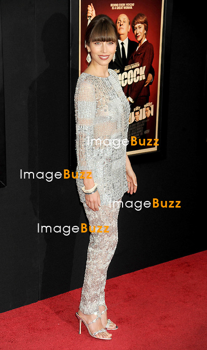 """Jessica Biel at the premiere of """"Hitchcock"""" in New York City..New York, November 18, 2012.."""