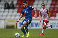 Craig Conway of Salford City and Charlie Lakin of Stevenage during Stevenage vs Salford City, Sky Bet EFL League 2 Football at the Lamex Stadium on 15th February 2020