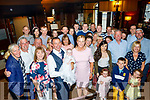 John&Eileen O'Sullivan from Annagh, Blennerville, Tralee Christened Baby Katie in St Brendan's church, Curraheen last Saturday afternoon and celebrated with their guests in Benners hotel, Tralee.