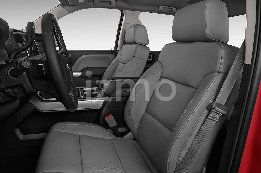 Front seat view of a 2015 Chevrolet Silverado 2500 4 Door Van front seat car photos