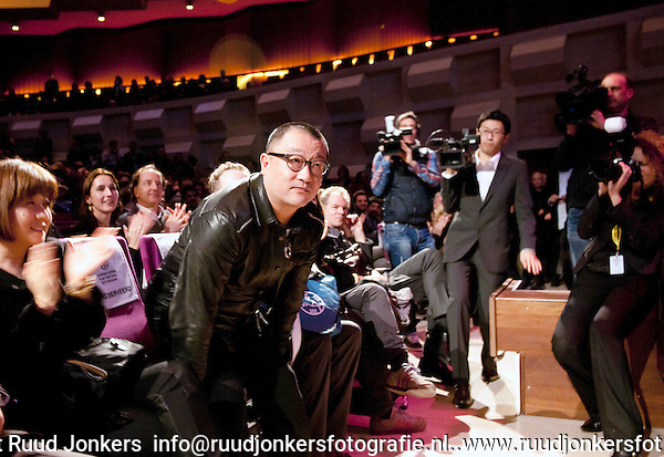 The Netherlands, Rotterdam ,  24 jan , 2012. .International Film Festival Rotterdam 2012. .opening night: Wang Xiaoshuai attending.<br /> Photo: RUUD JONKERS. Copyright and ownership by photographer. FOR IFFR USE ONLY. Not to be (re-)distributed in any form. Copyright and ownership by photographer. FOR IFFR USE ONLY. Not to be (re-)distributed in any form.