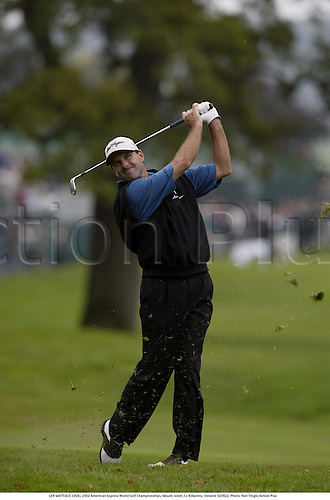 LEN MATTIACE (USA), 2002 American Express World Golf Championships, Mount Juliet, Co Kilkenny, Ireland, 020922. Photo: Neil Tingle/Action Plus...golf golfer player............................ ........................