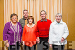 L-r  Mary Welsh, Michael Murphy, Rita O'Sullivan, John O'Sullivan and Mary O'Shea from Castlemorris Estate and Killerisk Gardens at the Tidy Tralee Together Awards night at Fels Point Hotel on Monday