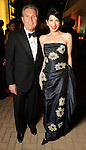 Kelli Cohen Fein and Martin Fein at the post performance dinner following the Houston Grand Opera's 2010-2011 season opener Friday Oct. 22, 2010. (Dave Rossman/For the Chronicle)