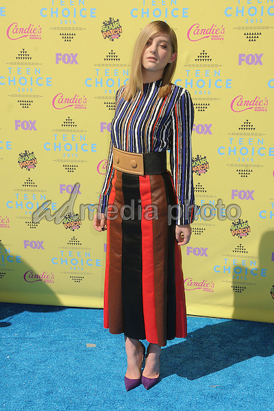 16 August 2015 - Los Angeles, California - Willow Shields. Teen Choice Awards 2015 - Arrivals held at the USC Galen Center. Photo Credit: Byron Purvis/AdMedia