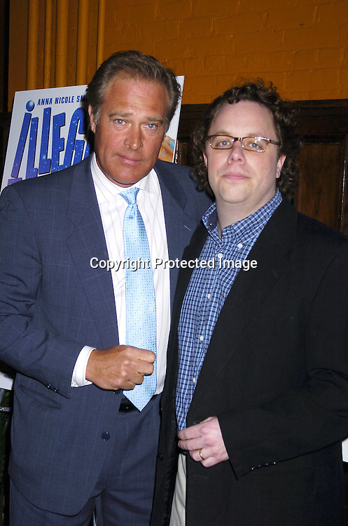 "Producer John James and director David Giancola ..at a screening of a trailer for ""Illegal Alliens"" produced by John James and starring Joanie Laurer and Anna Nicole Smith on March 1, 2006 at Tribeca Cinemas...Robin Platzer, Twin Images"