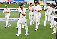 2nd December, Hamilton, New Zealand; New Zealand bowler Neil Wagner after a 5 wicket bag on day 4 of the 2nd test cricket match between New Zealand and England  at Seddon Park, Hamilton, New Zealand.
