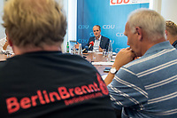 2018/08/09 Politik | CDU-Berlin | Burkard Dregger