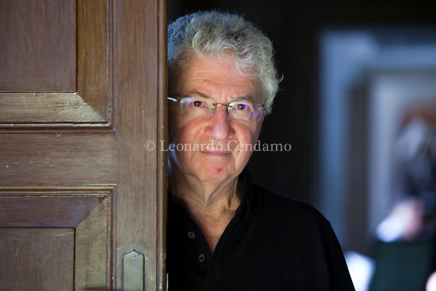 Donald Sassoon è uno storico, scrittore  britannico, professore emerito di Storia Europea Comparata alla Queen Mary University of London. Mantova 5 settembre 2019. Photo Leonardo Cendamo