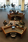 February 23, 2015. Durham, North Carolina.<br />  Students study in the J. Michael Goodson Law Library.<br />  The Duke University School of Law is considered one of the best law schools in the country.