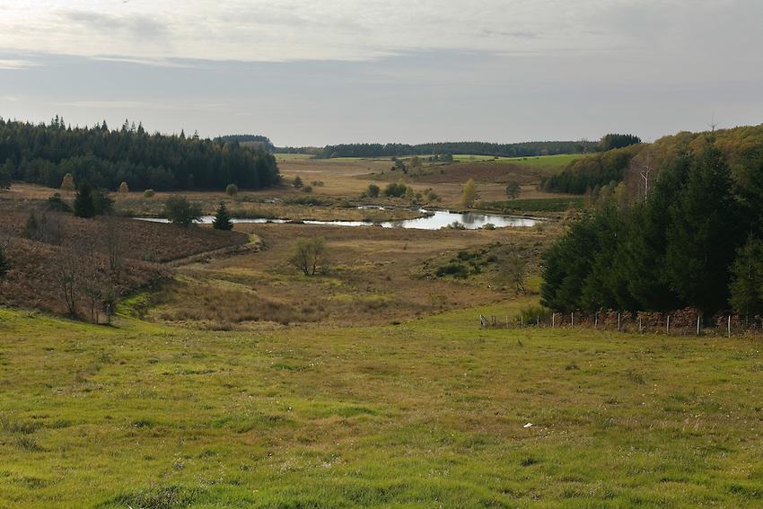 Plateau de Millevaches<br /> Chabannes