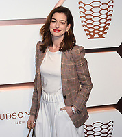 MAR 14 Anne Hathaway at the Hudson Yards VIP Grand Opening event