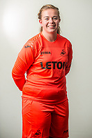 Wedensday 26 July 2017<br />Pictured: Kate Brisland<br />Re: Swansea City Ladies Squad 2017- 2018 at the Liberty Stadium, Wales, UK