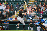 Jupiter Hammerheads Cameron Baranek (8) during a Florida State League game against the Bradenton Marauders on April 20, 2019 at LECOM Park in Bradenton, Florida.  Bradenton defeated Jupiter 3-2.  (Mike Janes/Four Seam Images)