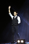 """Eric Chien (The Manipulator) during a press preview of """"The Illusionists - Magic of the Holidays"""" at the Neil Simon Theatre on December 3, 2019 in New York City."""