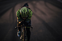 Caleb Ewan (AUS/Michelton-Scott) during TTT training at dawn at the Circuito de Almeria Fans<br /> <br /> Michelton-Scott training camp in Almeria, Spain<br /> february 2018