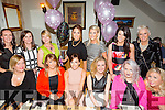 Celebrating her 30th birthday with friends and family on Saturday night was Ciara McCarthy from Mounthawk,Tralee at Bella Bia's. Front l-r Leslie O'Callaghan, Aideen O'Connor, Ciara McCarthy, Sinead McCarthy, Anna Griffin, Shauna O'Mahony, Debbie Dillon, Michelle Neenan, Mags O'Halloran, Emma O'Brien, Michelle Galvin  Tara Crean and Orla Winters.